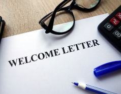 Read A Welcome Letter