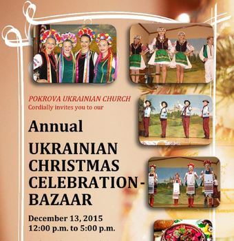 Ukrainian Christmas Celebration/Bazaar