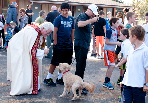 Click here for the Blessing of the Animals 2014 Photo Album