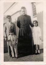 Father O'Shea was the priest who baptized William Joseph Levada in 1934