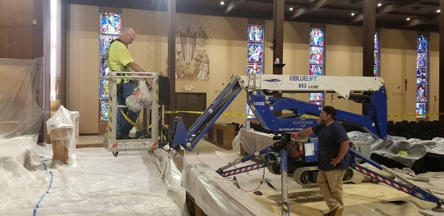 Church Renovation Moves | Our Lady of Victory Catholic