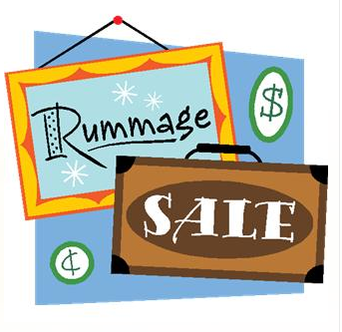 Drop Off Times for the Rummage Sale