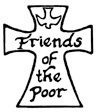 Signups for the Friends of the Poor Walk