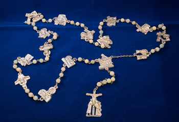 Stations of the Cross Chaplet Rosaries at this weekend Masses