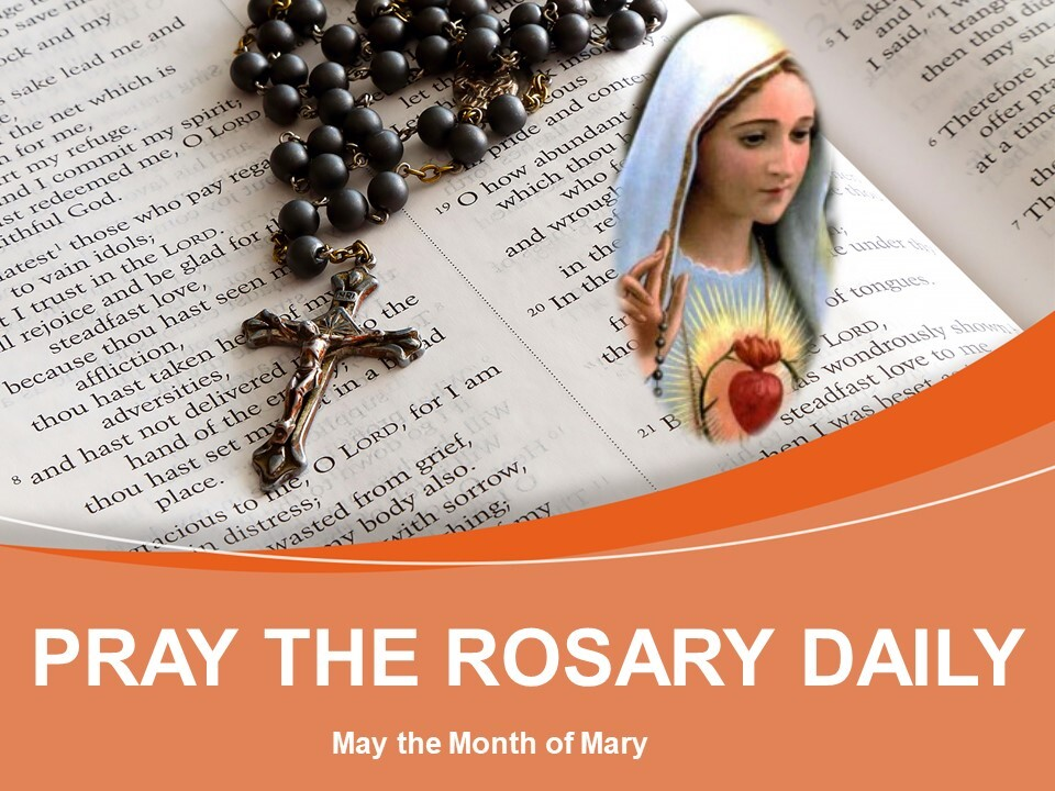 May-Month of Mary