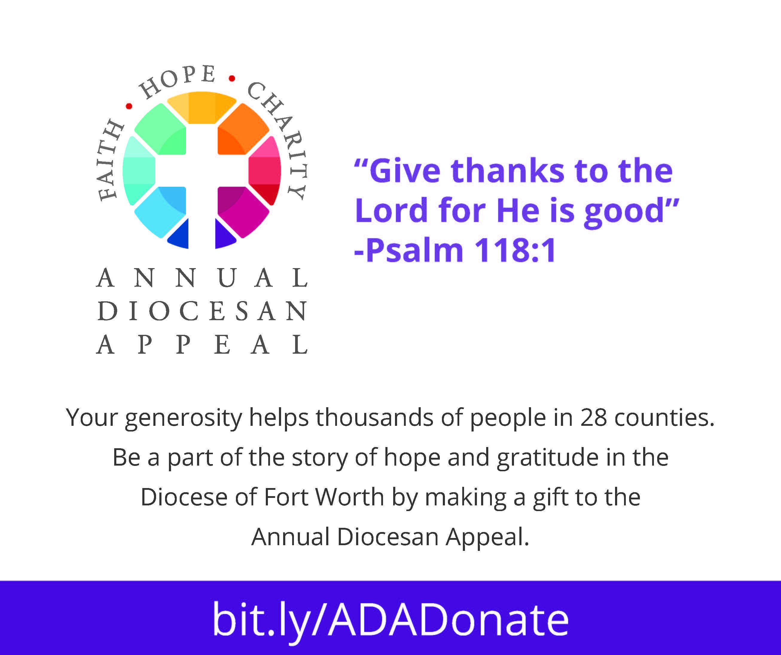 Annual Diocesan Appeal image