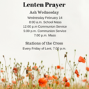 Join Us for Lenten Prayer at Ash Wednesday and Stations of the Cross