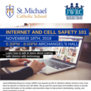 Parent Connections Speaker on Internet and Cell Safety