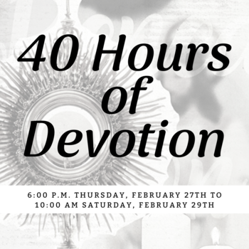 40 Hours of Devotion