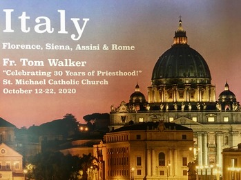 Pilgrimage to Italy Information Meeting