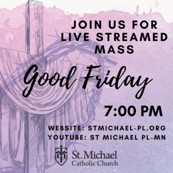 Good Friday Mass- LIVE STREAMED