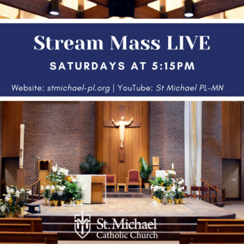LIVE Streamed Mass