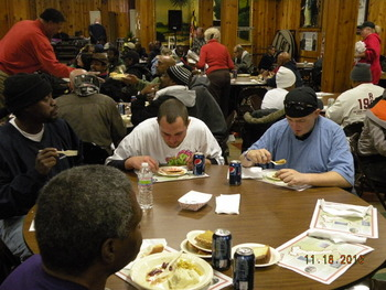 Thanksgiving Dinner for Needy & Homeless