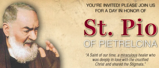 Padre Pio Birthday Celebration