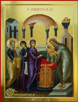 Encounter of Our Lord with Simeon & Anna
