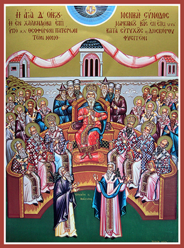 6th Sunday after Pentecost: Fathers of the Six Ecumenical Councils