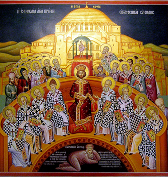 Sunday of the Fathers of 7th Ecumenical Council