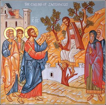 33nd Sunday after Pentecost - Sunday of Zacchaeus