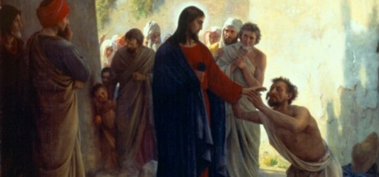 Jesus anointing of the sick