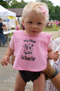 My First Ox Roast Fair bibs