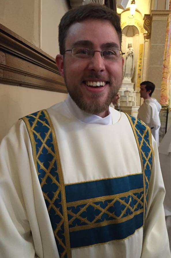 Deacon James-Peter Trares, OP