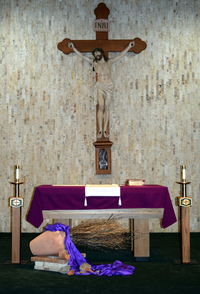 new crucifix added March 11, 2017
