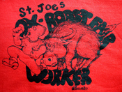 Ox Worker's Shirts 2005, 2006, 2007 (offered in several colors t's, sweatshirts & hoodies)