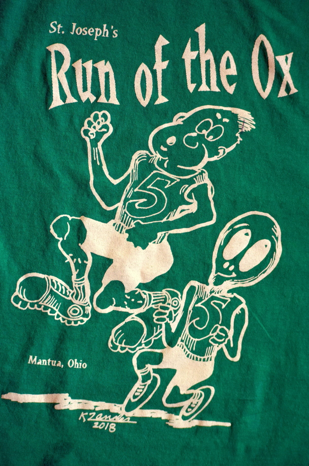 2018 Run of the Ox t-shirt