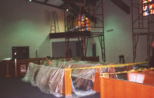 church interior painting (1998)