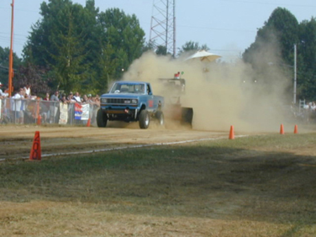 4WD Pick-Up Pull