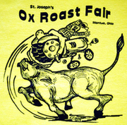 2019 Ox Tossing Tractor T-Shirt