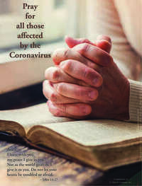 Pray for all those affected by the Coronavirus
