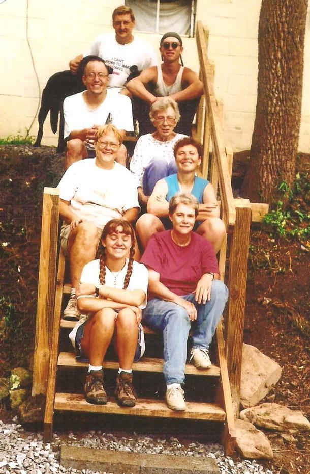 Appalachian Experience 1998 group