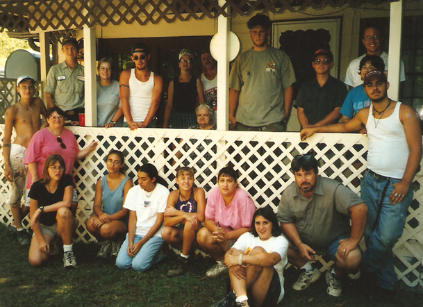 Appalachian Experience 1999 group