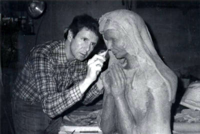Brian Heard works on Mary