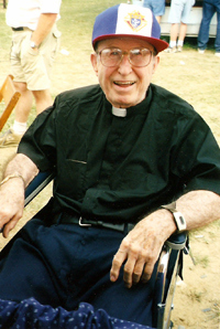 Fr. Francis Hughes visits his Fair