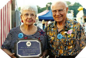 Rose & Bill Sontag honored for years of service