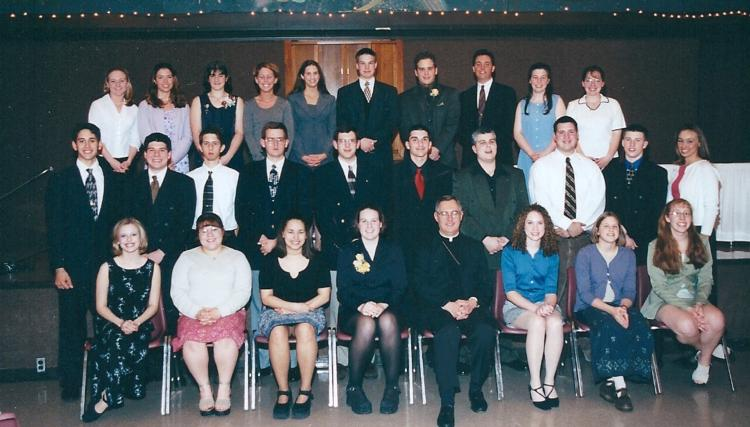 Eagle of the Cross 2000 - Sarah Clapp with group