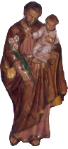 Saint Joseph with infant Jesus