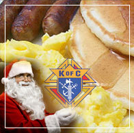 Knights of Columbus Pancake with Santa