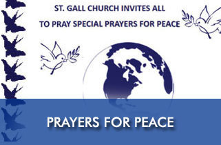 Special Prayers for Peace at St. Gall Church