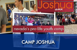 Camp Joshua - Calling all Pro-Life High School Students