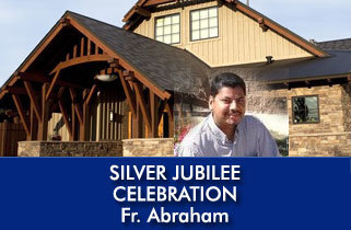 Father Joseph C. Abraham Celebration of the Silver Jubilee of his Ordination