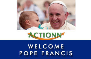 Welcome Pope Francis to the U.S.