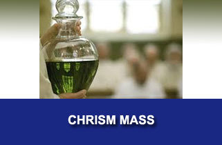 Chrism Mass with Bishop Calvo