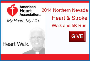 Fr. Mike's Heart Walk Donation