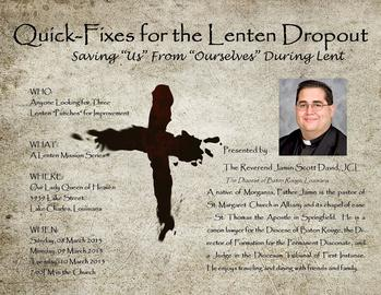 A LENTEN MISSION SERIES