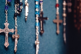 Rosaries by Abigail - Look for new auto rosaries in our parish bookstore