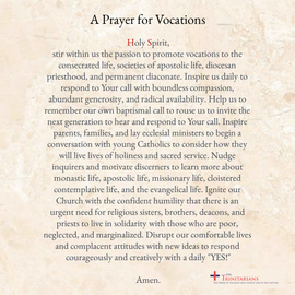 A Prayer for Vocations