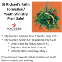 Wagners' Plant Sales are Back!